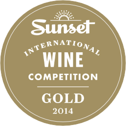 Sunset International Wine Competition Gold 2014